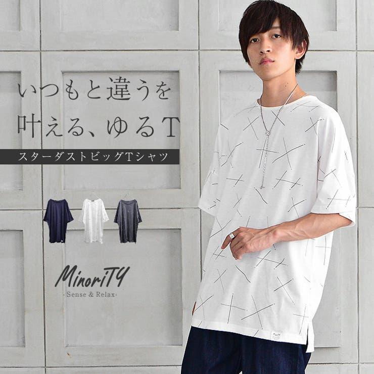 ビッグTシャツ メンズ 半袖Tシャツ | MinoriTY | 詳細画像1