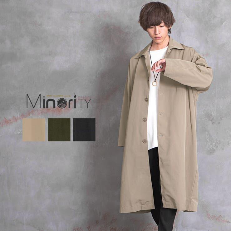コート メンズ ステンカラーコート | MinoriTY | 詳細画像1