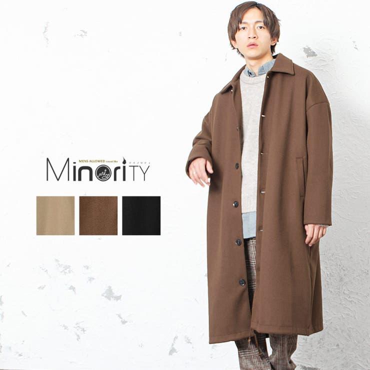 コート メンズ ロングコート   MinoriTY   詳細画像1