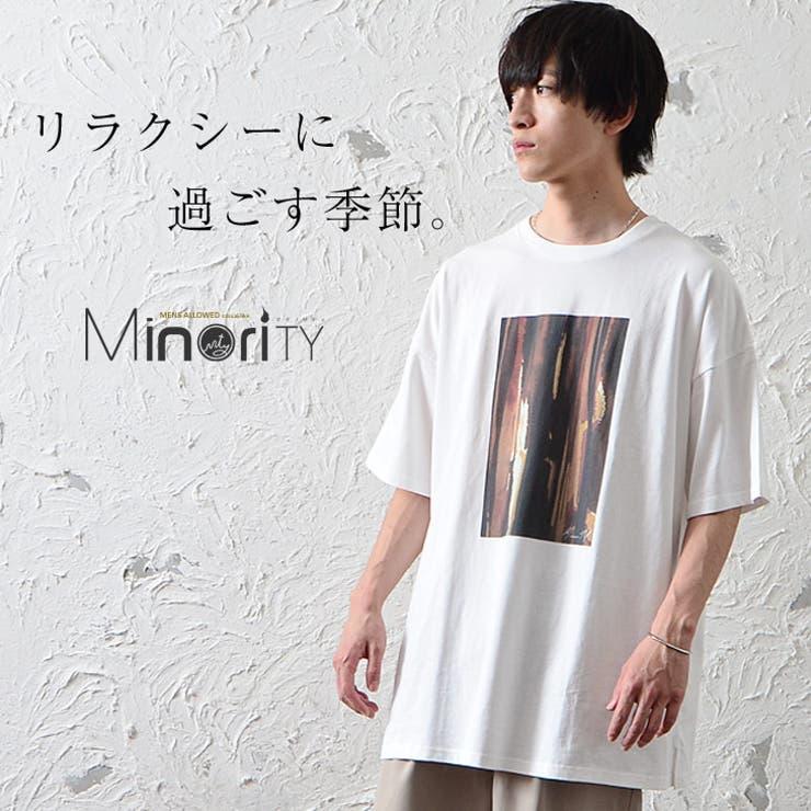 レトロストライププリントTシャツ/半袖 | 詳細画像