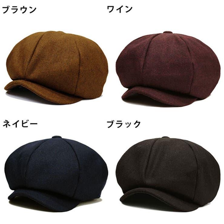 帽子 ハンチングキャスケットスナップ付き / メンズ レディース ユニセックス 男女兼用