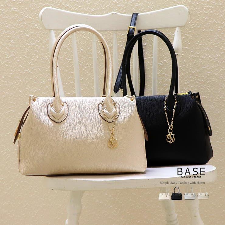 2way メタリック トートバッグ | BASE | 詳細画像1