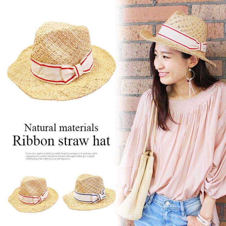 リボンハット ハット 帽子   MODE ROBE   詳細画像1