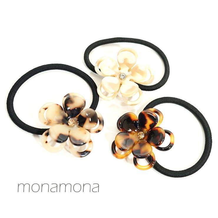 monamonaのヘアアクセサリー/ヘアゴム   詳細画像