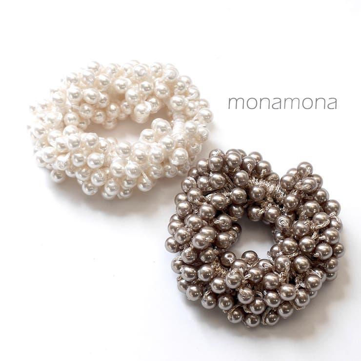 monamonaのヘアアクセサリー/シュシュ | 詳細画像