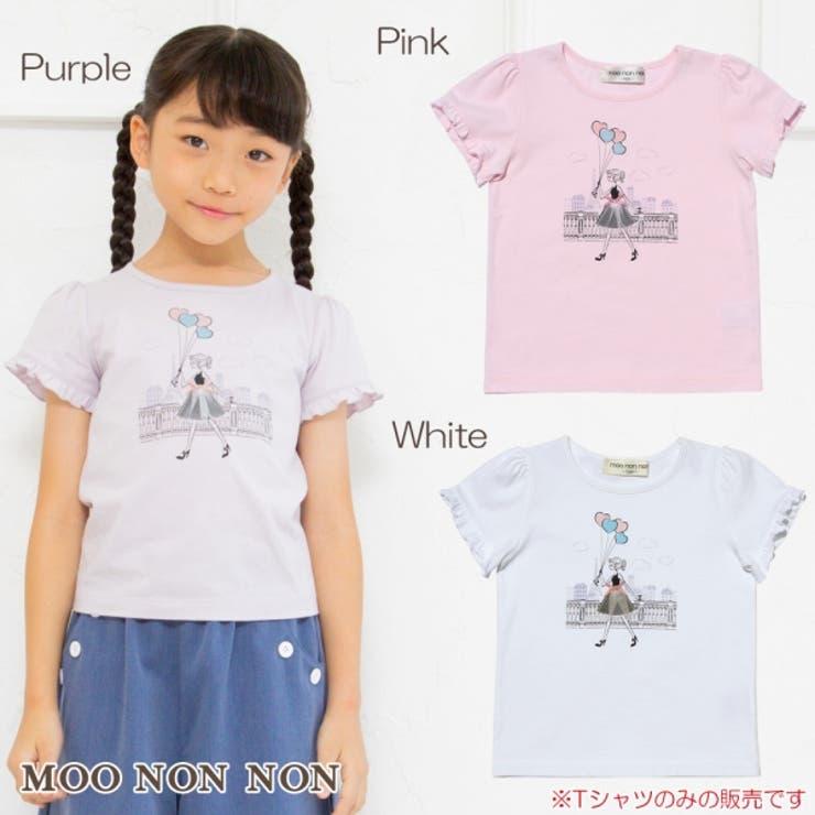 子供服 女の子 Tシャツ   moononnon   詳細画像1