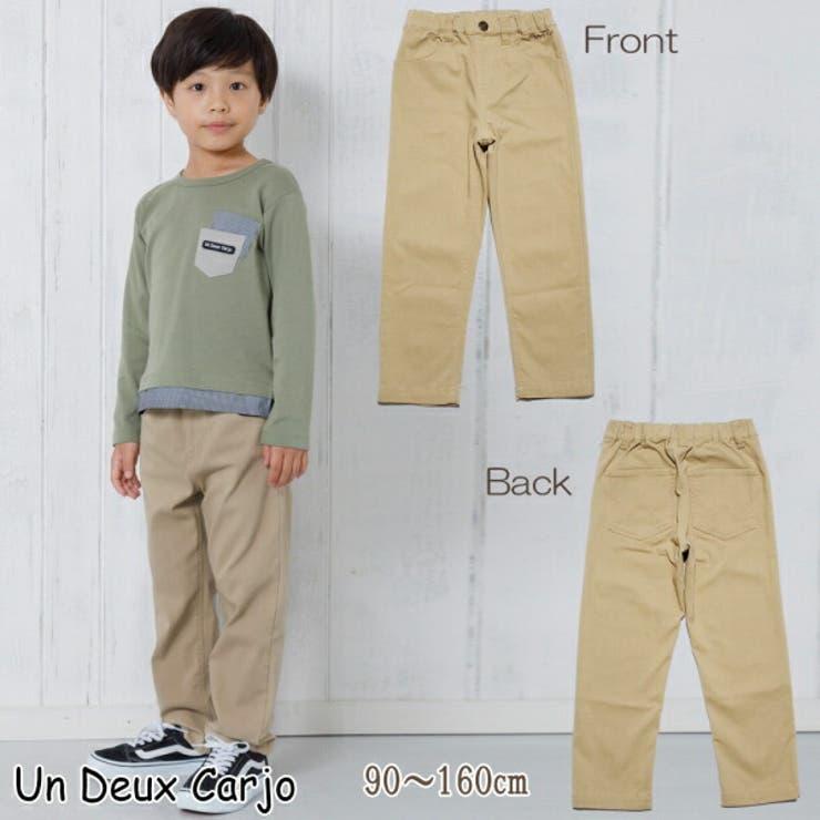子供服 男の子 パンツ   UnDeuxCarjo   詳細画像1