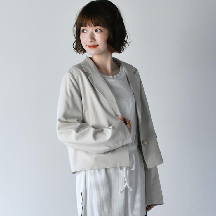 RETRO GIRLのアウター(コート・ジャケットなど)/テーラードジャケット   詳細画像
