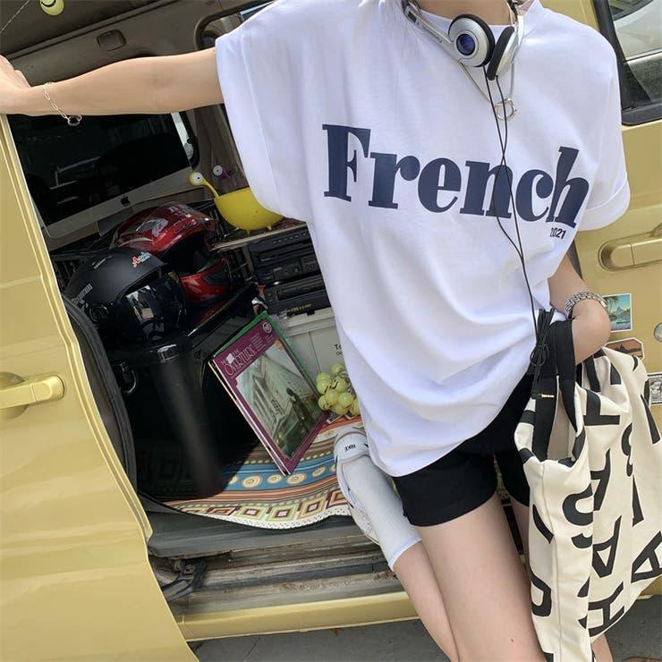 FrenchロゴTシャツ T5614   mushwear   詳細画像1