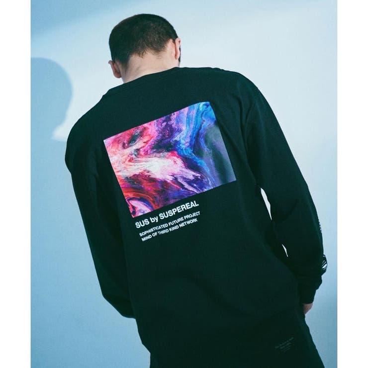 SUS別注 UFトラクトTシャツ/長袖   nano・universe   詳細画像1