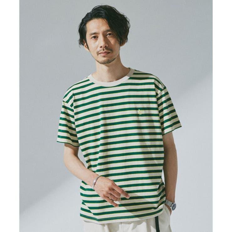 The Endless Summer 刺繍ボーダーTシャツ   nano・universe   詳細画像1