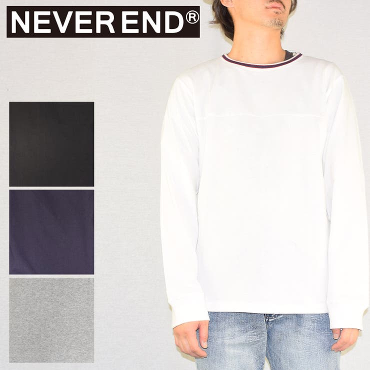 NEVEREND のトップス/カットソー   詳細画像