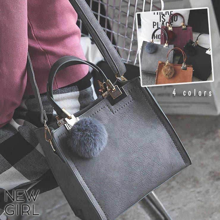 バッグファーチャーム多彩大人カジュアル小さ目通勤通学ファッションレディース軽量 | 詳細画像
