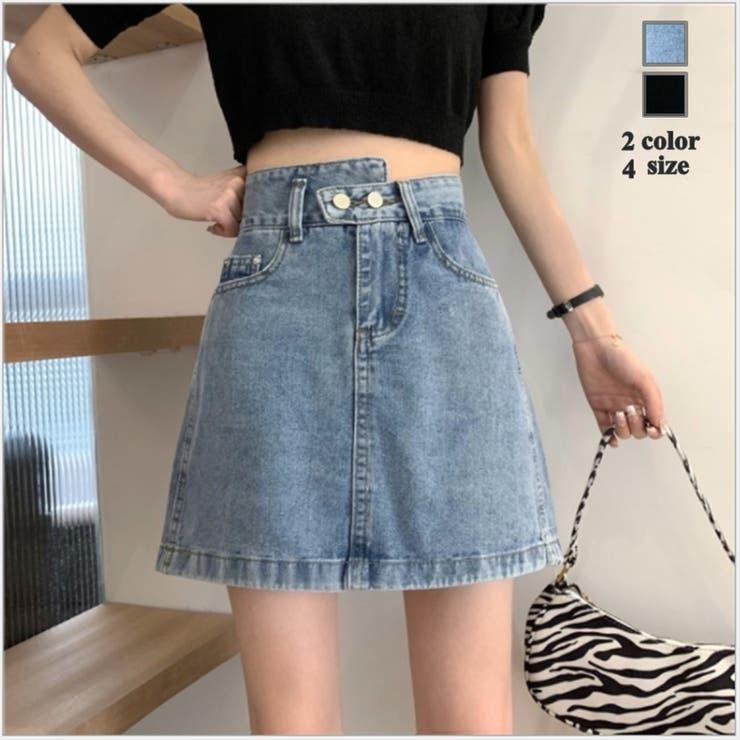 2色4サイズ!ショートスカート 無地 シンプル | NewImage | 詳細画像1