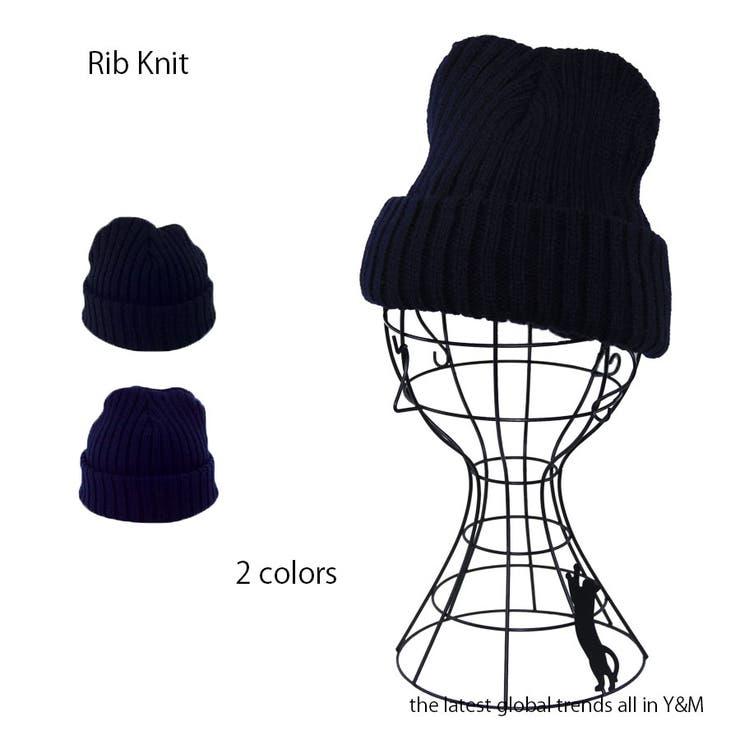 リブニット帽 | 詳細画像