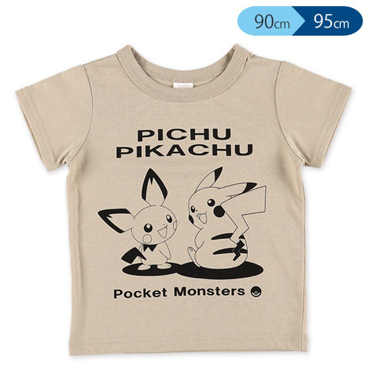 ポケモン単色半袖Tシャツ正面 | 詳細画像