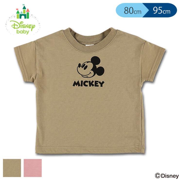 [ディズニー]ミッキーワイド半袖Tシャツ正面 | 詳細画像