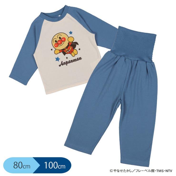 アンパンマン)腹巻付き長袖パジャマ | 西松屋 | 詳細画像1
