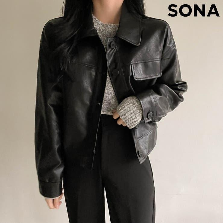 SONYUNARA(ソニョナラ)ビンテージレザージャケット | 3rd Spring | 詳細画像1