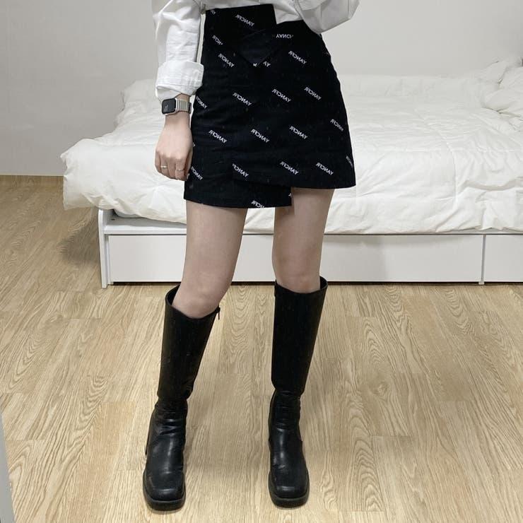 SONYUNARA(ソニョナラ)ユニークアンバランススカート | 3rd Spring | 詳細画像1