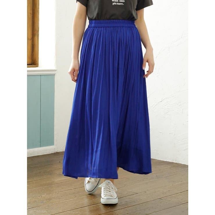 ビンテージサテンスカート | Ludic Park | 詳細画像1