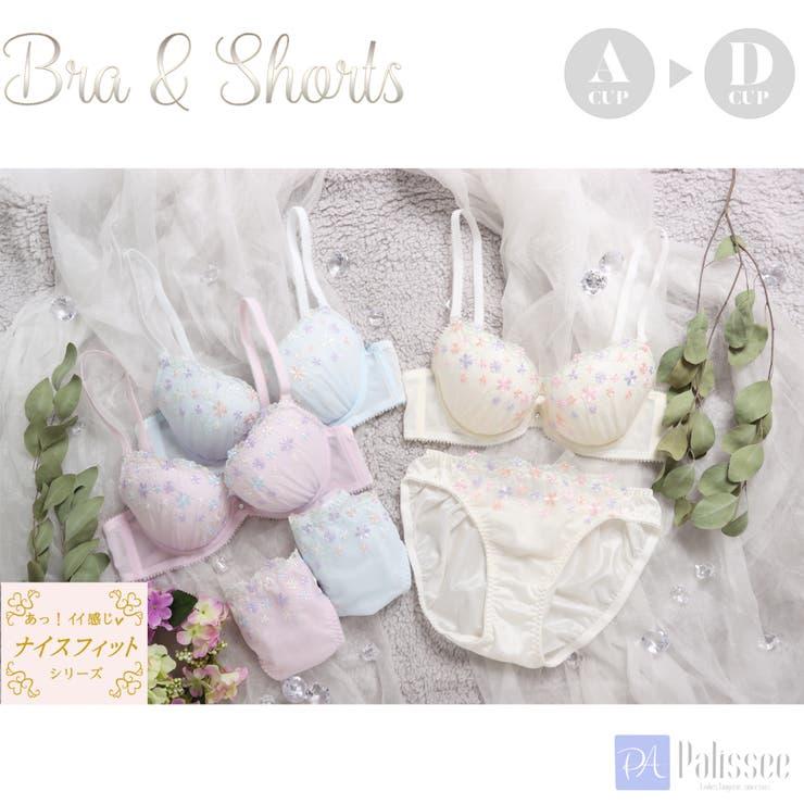 petit fleurs 3/4カップブラ&ショーツ    palissee   詳細画像1