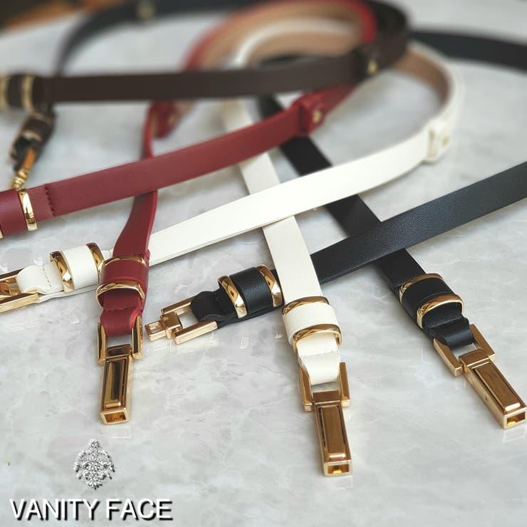 ドッキング金具ベルト  韓国ファッション   VANITY FACE   詳細画像1