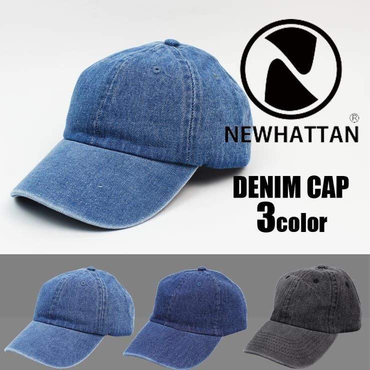 デニムキャップ メンズ NEWHATTAN ニューハッタン | EYEDY | 詳細画像1