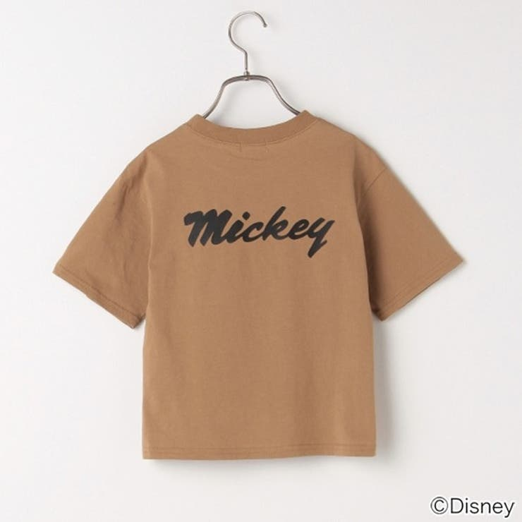 b・ROOM 【DISNEY】ミッキーマウスデザインTシャツ(キャップ)   petitmain   詳細画像1