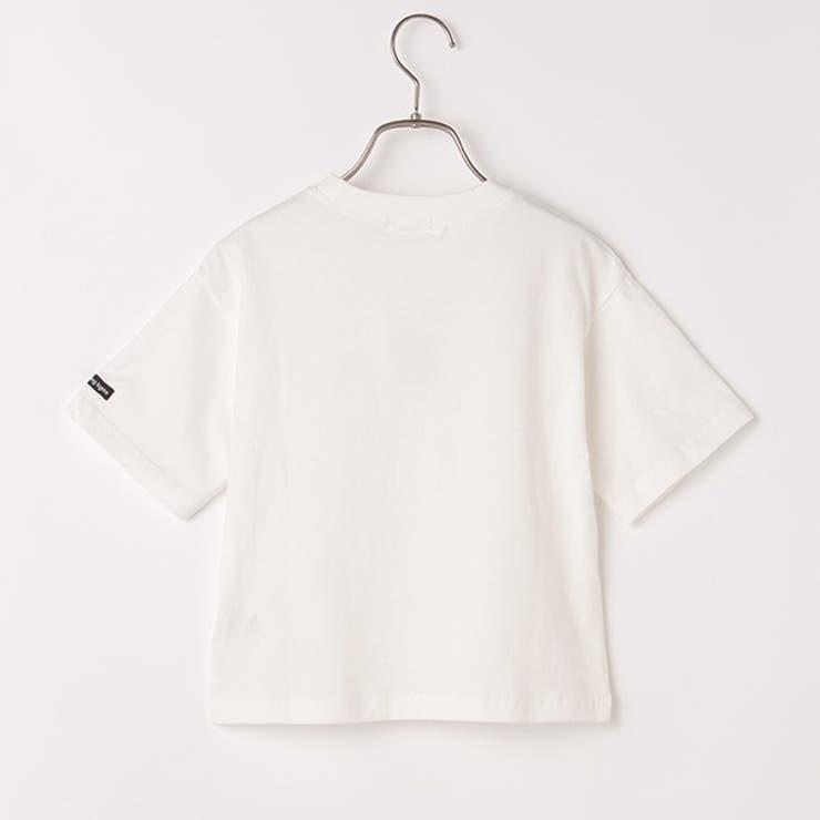 b・ROOM アソートワンポイントロゴビッグTシャツ | petitmain | 詳細画像1