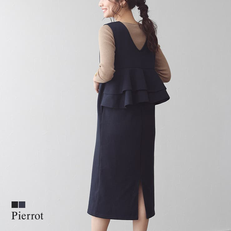 pierrotのワンピース・ドレス/キャミワンピース   詳細画像