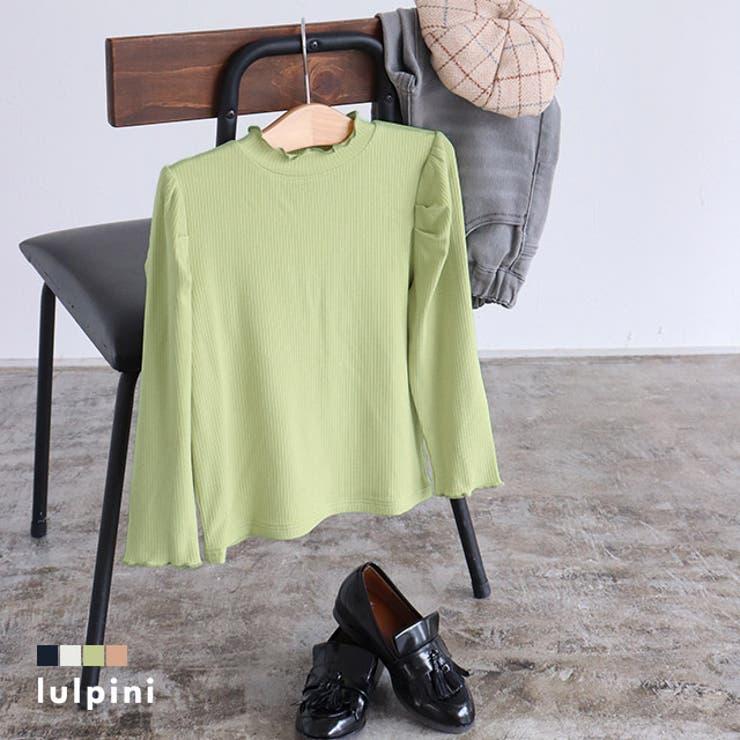 kids パフスリーブメローロングスリーブTシャツ Tシャツ   lulpini   詳細画像1