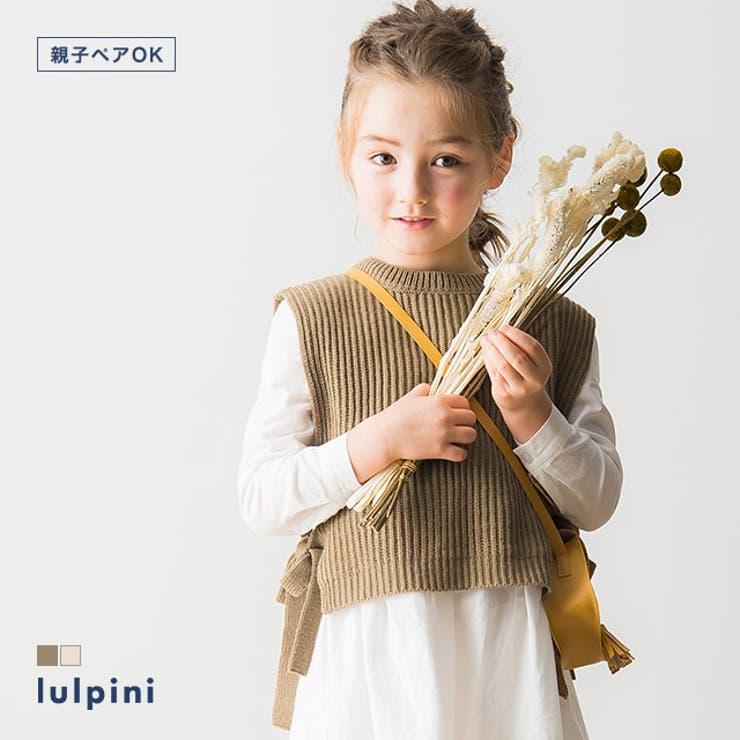 kids ニットベスト ニット   lulpini   詳細画像1