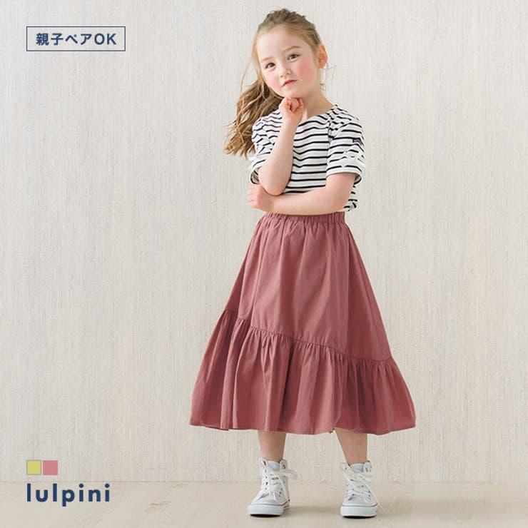 kids 一段ティアードスカート スカート | lulpini | 詳細画像1