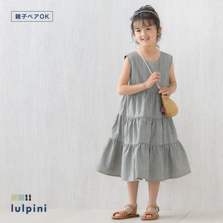 kids ティアードワンピース ワンピース   lulpini   詳細画像1