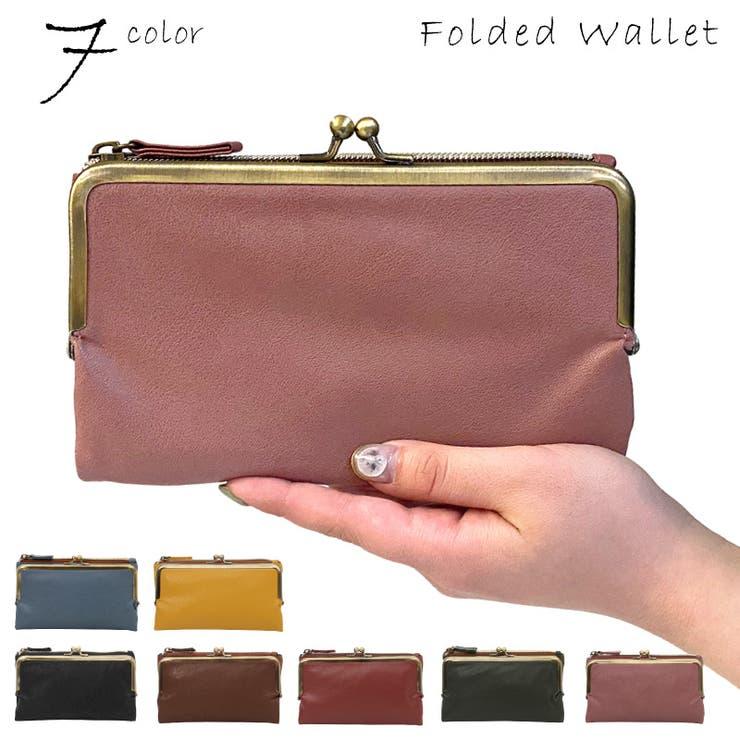財布 二つ折り財 がま口 | pinksugar | 詳細画像1