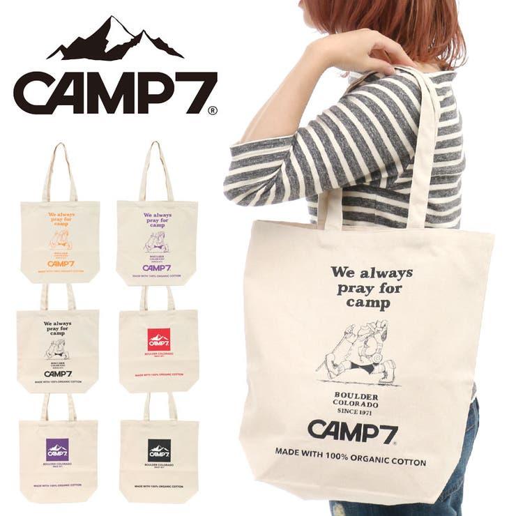 CAMP7 キャンプセブン キャンバストートバッグ | pinksugar | 詳細画像1