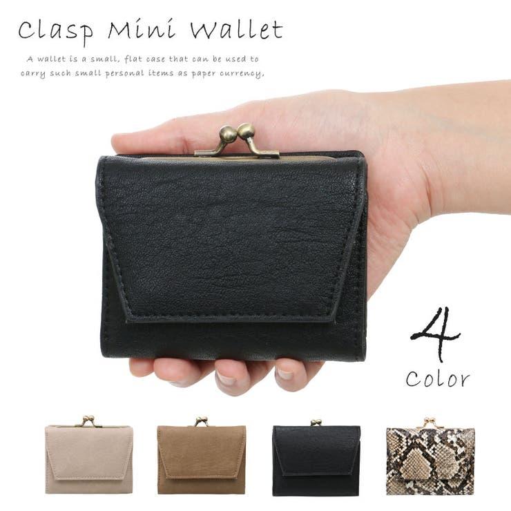 財布 レディース 三つ折り財布   pinksugar   詳細画像1