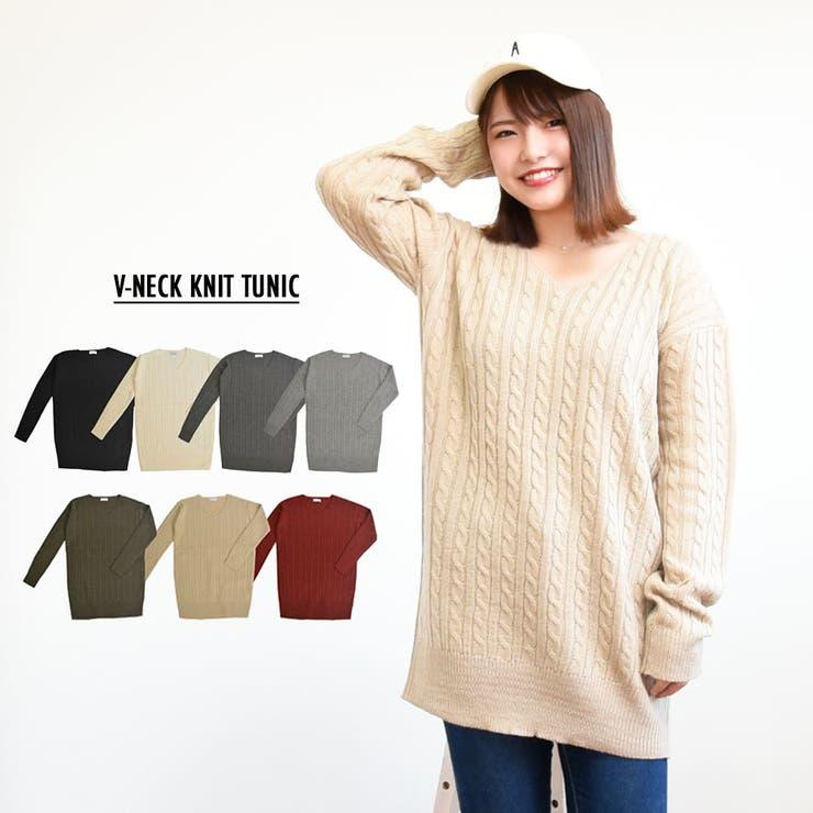 PlusNaoのトップス/ニット・セーター   詳細画像