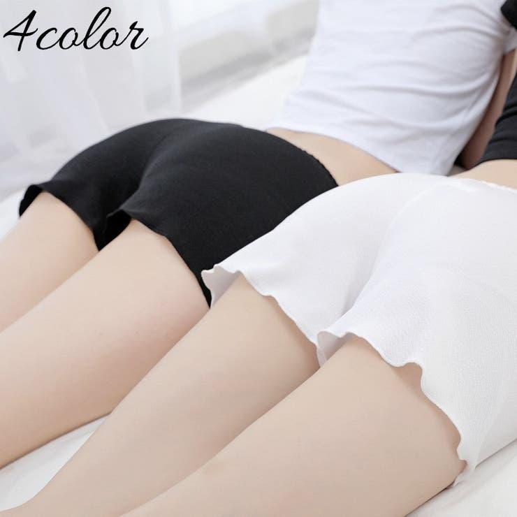 ショートパンツ インナーパンツ ペチコート   PlusNao   詳細画像1