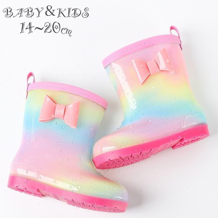 長靴 レインブーツ キッズ   PlusNao   詳細画像1