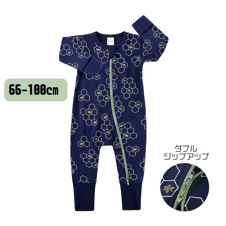 PlusNaoのベビー服・ベビー用品/べビーロンパース・カバーオール   詳細画像