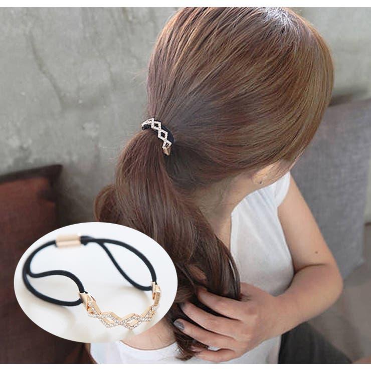 ヘアゴム ヘアアクセサリー まとめ髪 | PlusNao | 詳細画像1