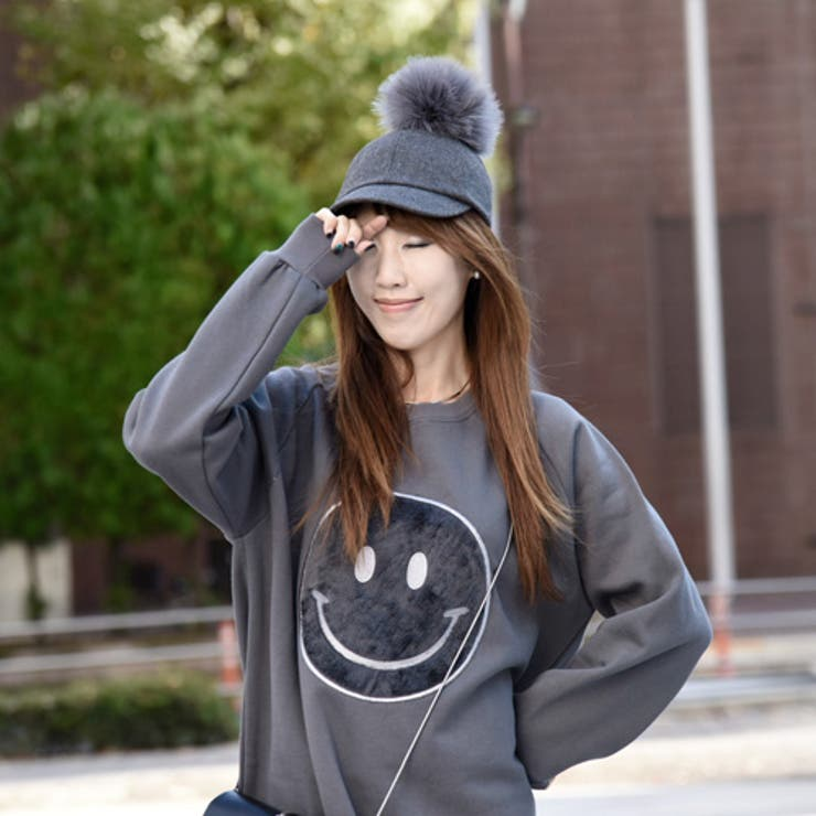 レディース 帽子 人気 レディースファッション アイテム キャップ きれいめ 帽 ファー付き ファーポンポンキャップ