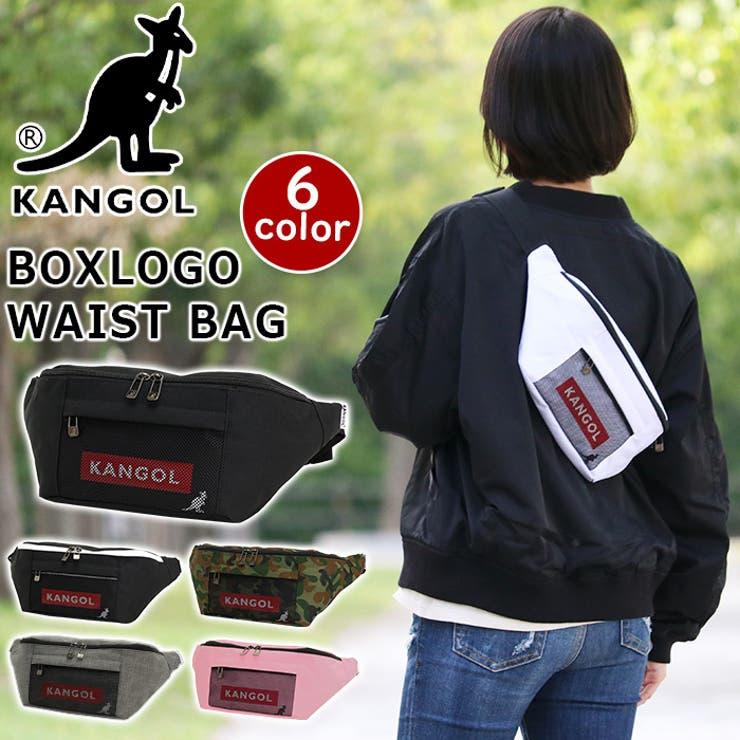 KANGOL カンゴール ウエストバッグ | Bellezza | 詳細画像1