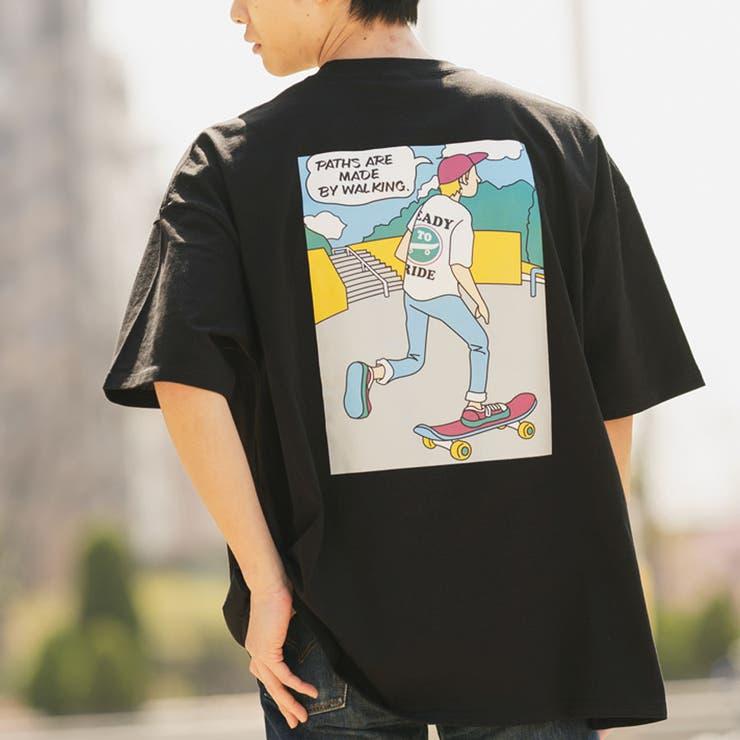 Tシャツ半袖 Tシャツメンズ Tシャツオーバーサイズ | MODISH GAZE | 詳細画像1
