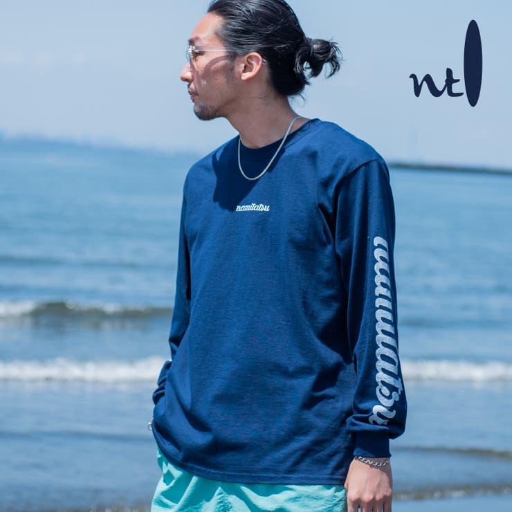波達 / NAMITATSU オーガニックコットン 刺繍 Tシャツ   MODISH GAZE   詳細画像1