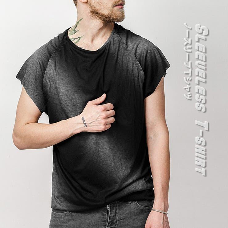 ノースリーブシャツ カットオフ メンズ | RAiseNsE  | 詳細画像1