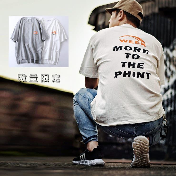 数量限定 ロゴプリント Tシャツ | RAiseNsE  | 詳細画像1