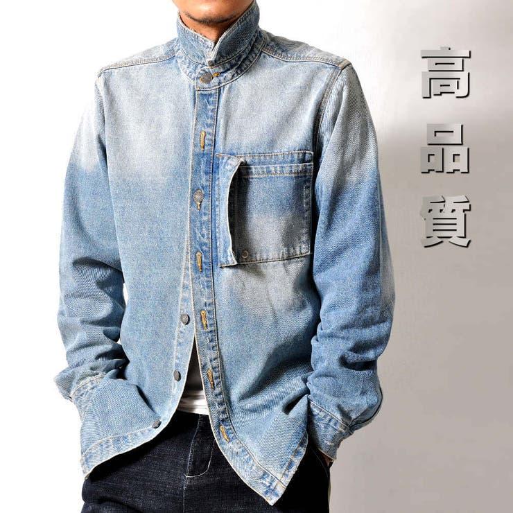高品質 厚手 デニムシャツ | RAiseNsE  | 詳細画像1